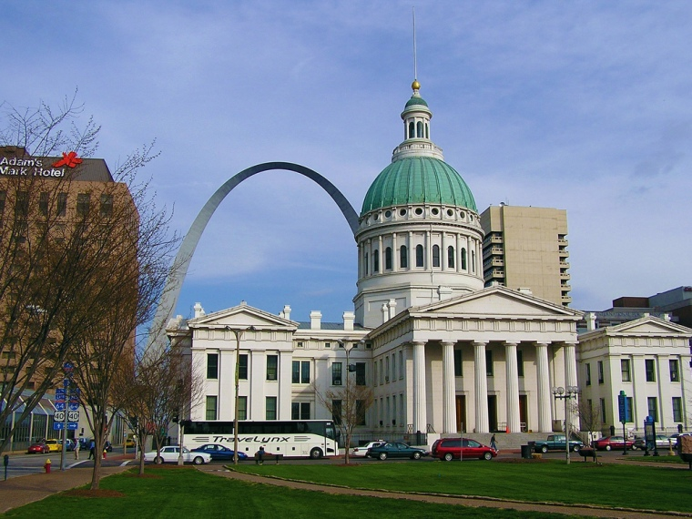 Meet me in St. Louie, Louie! The trip for the current story I'm working on to Saint Louis, MO. Photo by Steve Moses