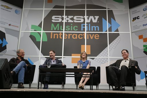 Stephen Kaufer, Jeffrey Housenbold, Carley Roney, Michael Dell