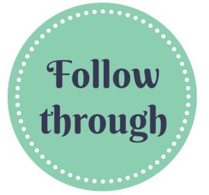 follow through 2