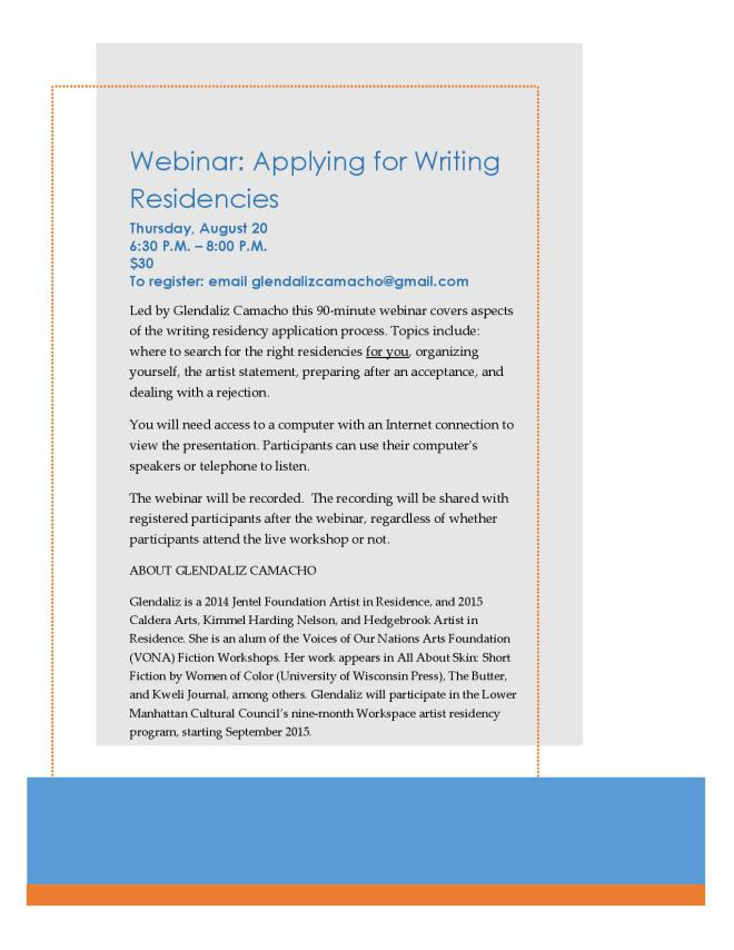 Webinar Flyer